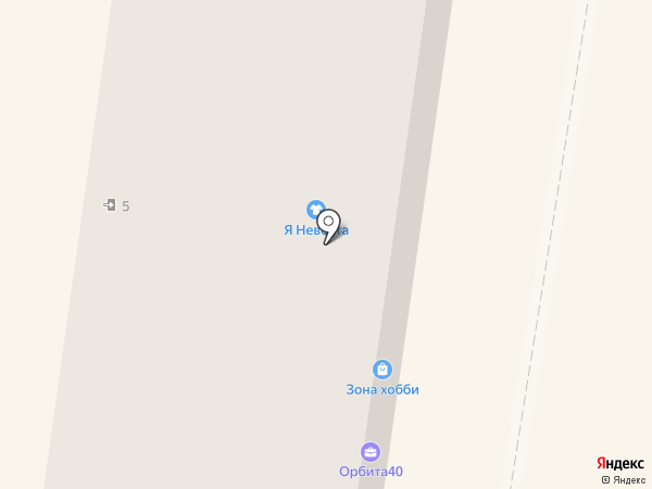 Художественная школа визажа Меньшиковой Ирины на карте Калуги
