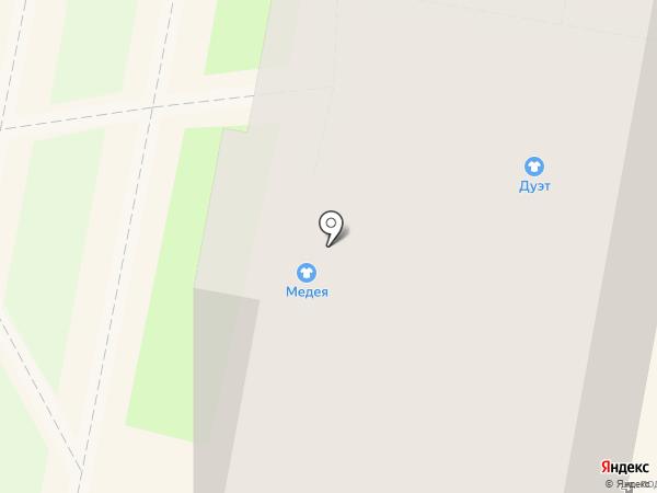 Медея на карте Калуги
