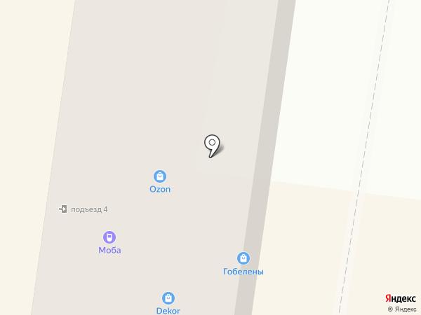 Букет на карте Калуги