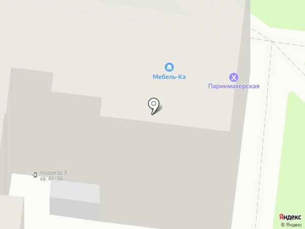 Мебель-Ка на карте Калуги