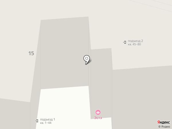 Эстэ на карте Калуги