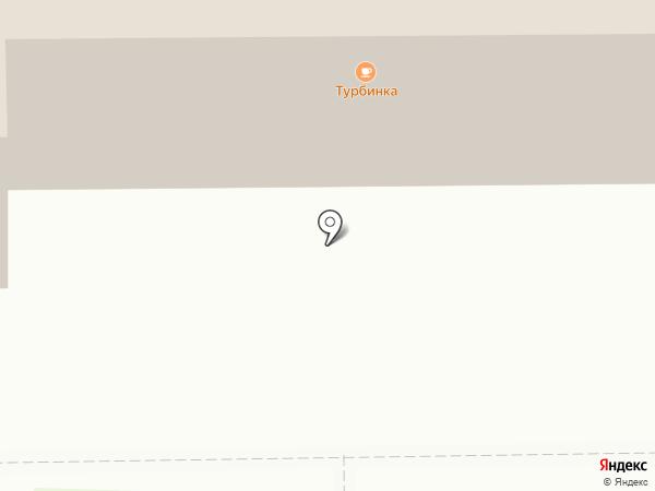 Турбинка на карте Калуги