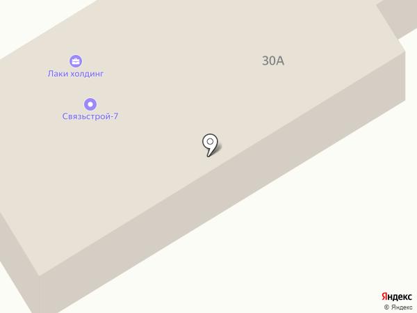 Связьстрой-7 на карте Калуги
