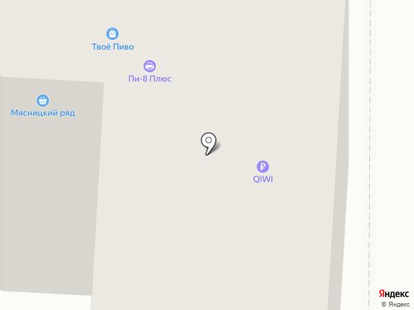 Рапид на карте Калуги