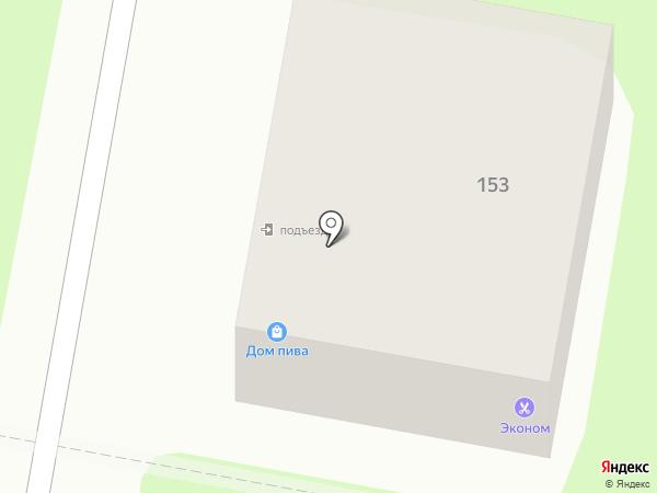 Альфа-Вижн на карте Калуги