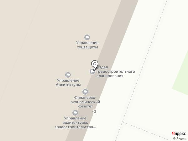 Управление архитектуры, градостроительства и земельных отношений г. Калуги на карте Калуги