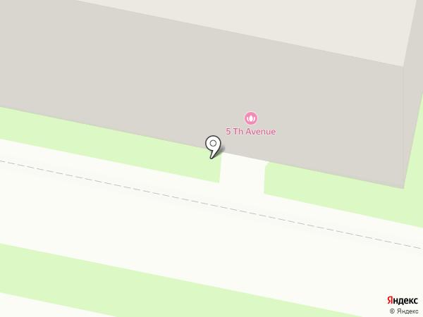 5TH AVENUE на карте Калуги