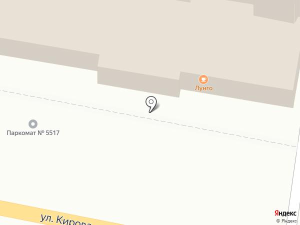 Место на карте Калуги