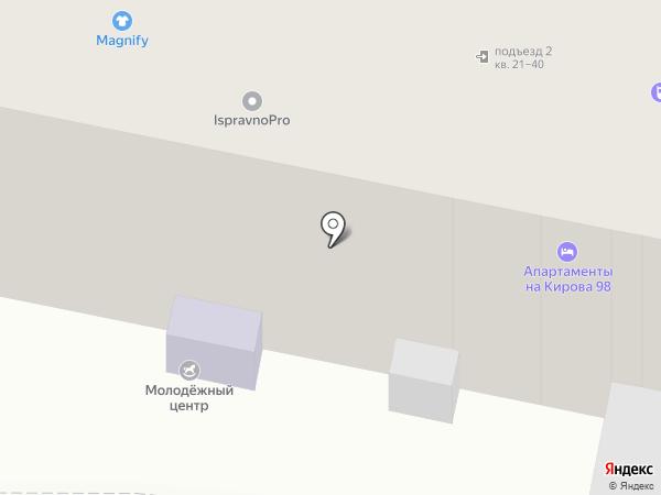 Восточная лавка на карте Калуги