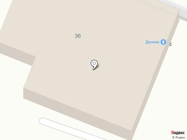 Дачник на карте Калуги