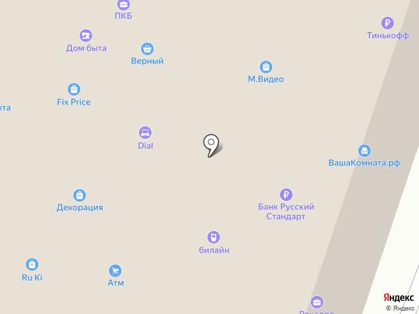 Территория гостеприимства на карте Калуги