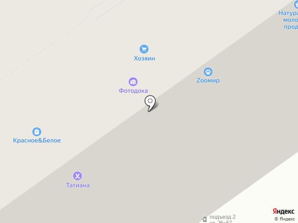 Ромашка на карте Калуги