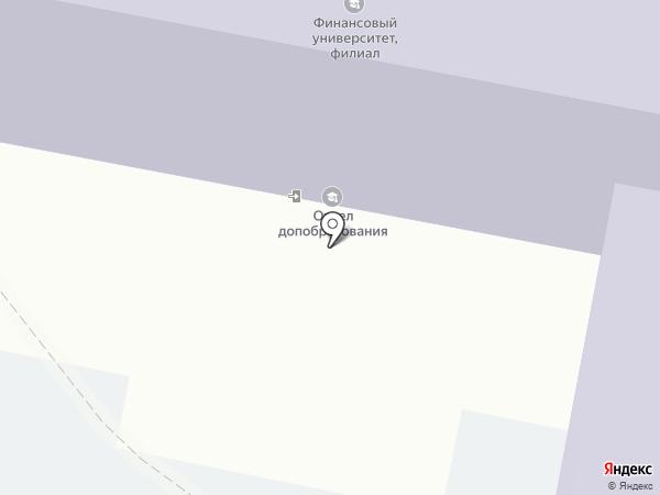Финансовый университет при Правительстве РФ на карте Калуги