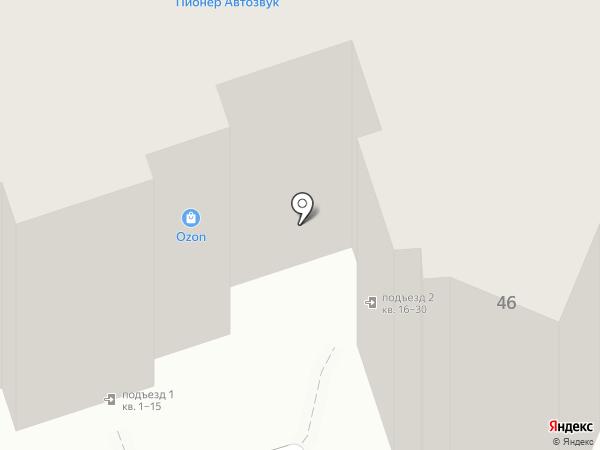 Магазин автозапчастей для ПАЗ на карте Калуги