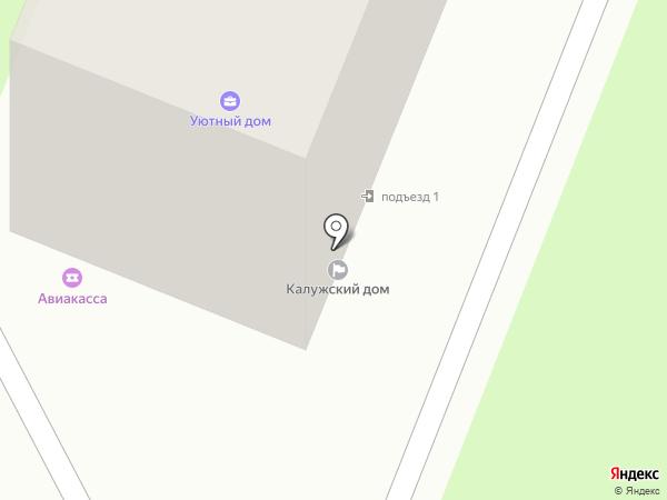 Калужский дом на карте Калуги