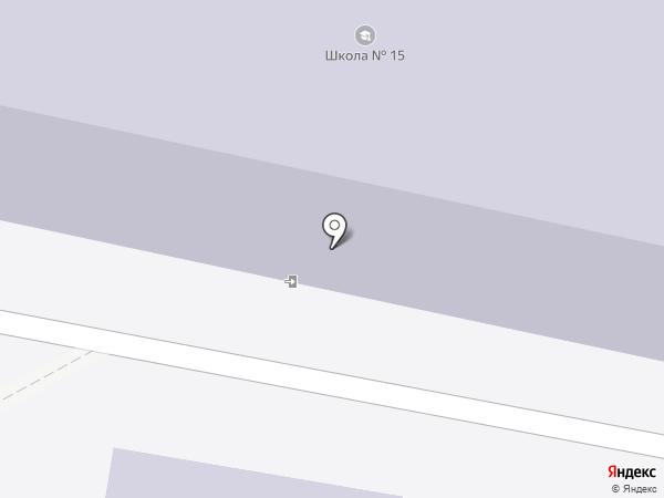 Средняя общеобразовательная школа №15 на карте Калуги