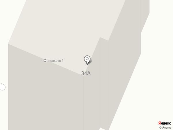 Парикмахерская на Дорожной на карте Калуги