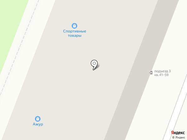 Магазин спортивных товаров на карте Калуги