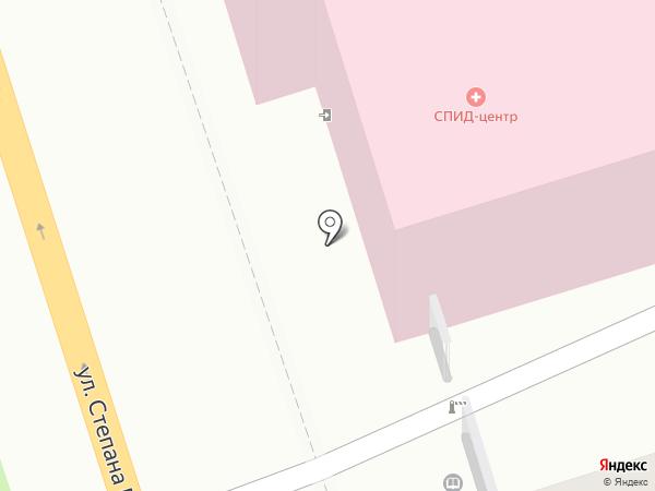 Калужский областной специализированный центр инфекционных заболеваний и СПИД на карте Калуги