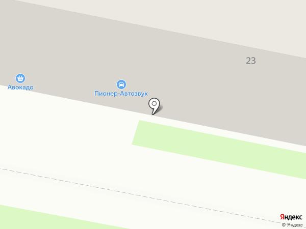 Пионер на карте Калуги