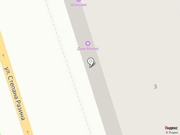 Антарас на карте Калуги