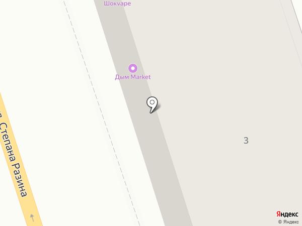 Магазин верхней одежды на карте Калуги
