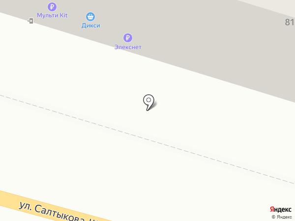 Бусики на карте Калуги