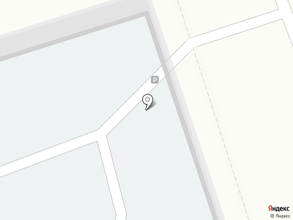 Автостоянка на Николо-Козинской на карте Калуги