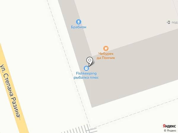 Дачный уголок на карте Калуги