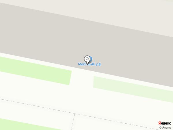 40Мебель на карте Калуги