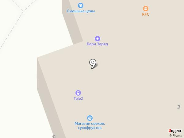 TELE2 на карте Калуги