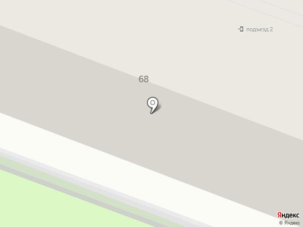 Бульвар на карте Калуги