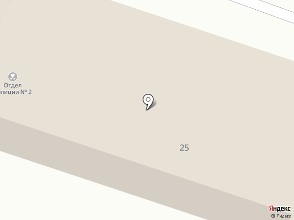Отдел полиции №2 на карте Калуги