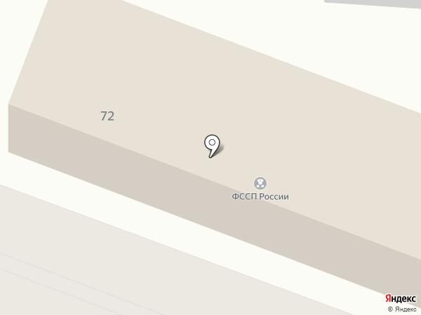 Отдел службы судебных приставов по Октябрьскому округу на карте Калуги