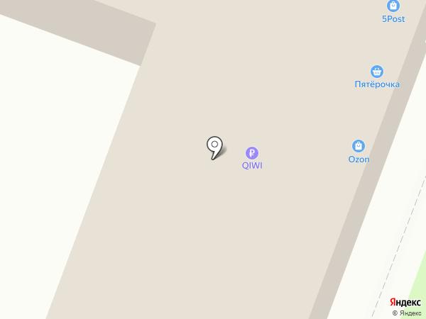Закусочная на ул. Ленина на карте Калуги