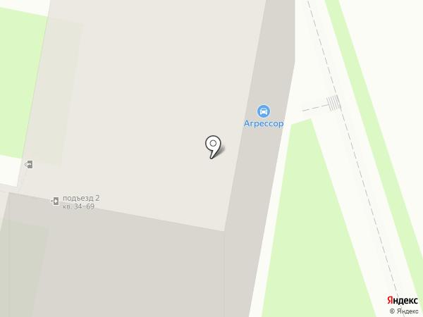 Автодок на карте Калуги