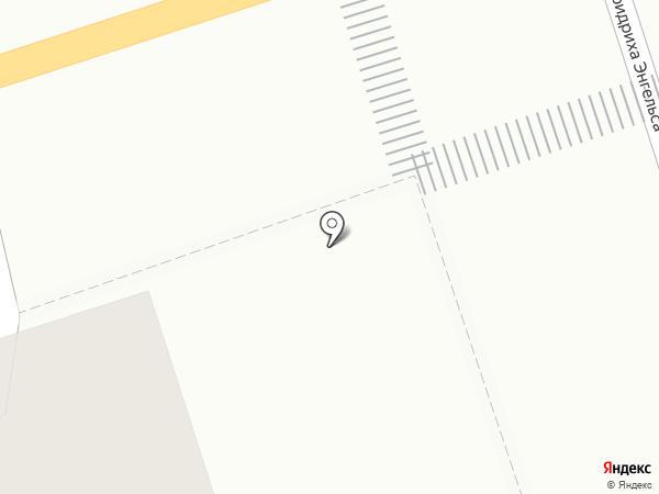 Киоск по продаже овощей и фруктов на карте Калуги