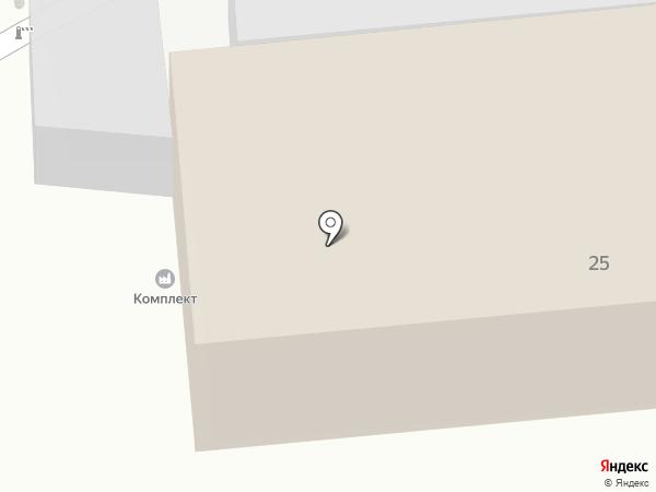 Комплект на карте Курска