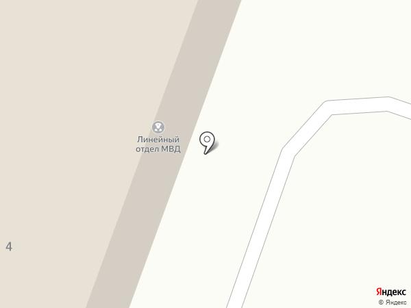Калужский линейный отдел МВД России на транспорте на карте Калуги