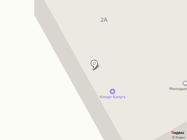 Технолига на карте Калуги