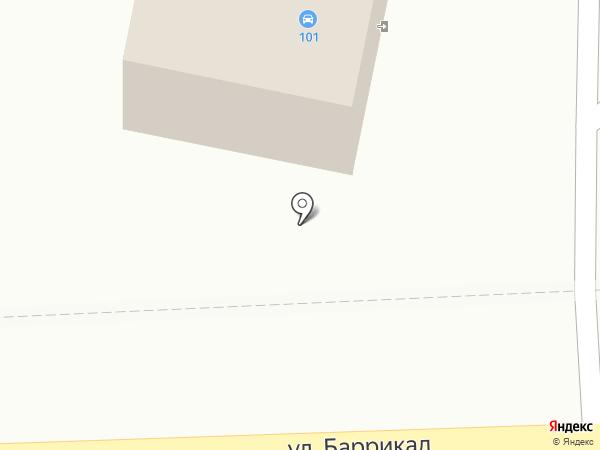 Шиномонтаж на карте Калуги
