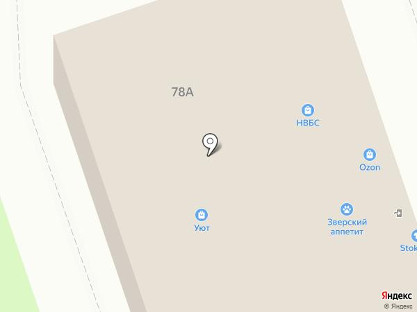 Милашка на карте Калуги