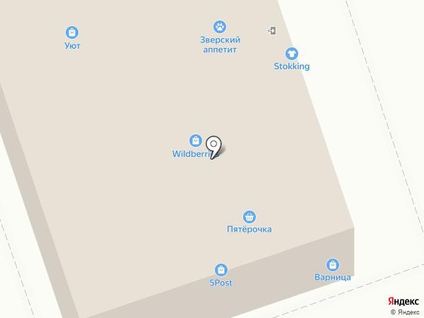 Пятерочка на карте Калуги