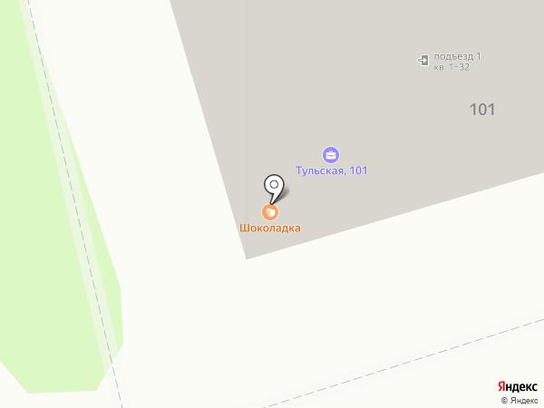 ТАШИРСТРОЙ на карте Калуги