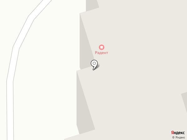 Радент на карте Калуги