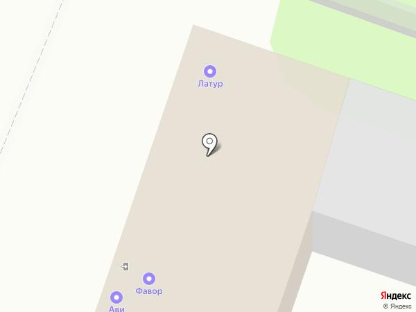 АВИ на карте Калуги