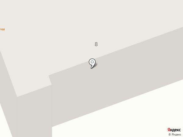 Кривой на карте Калуги