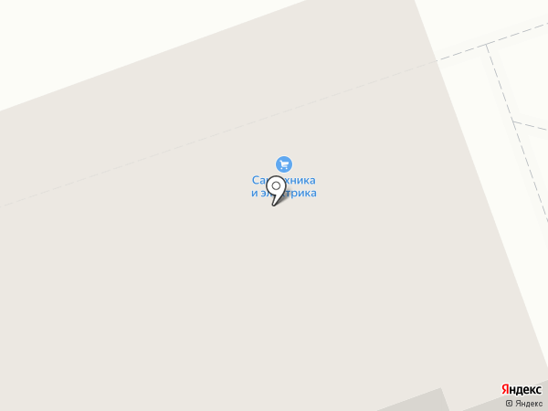 Магазин сантехники и электрики на карте Калуги