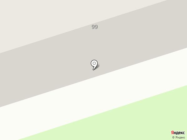Почтовое отделение №2 на карте Калуги