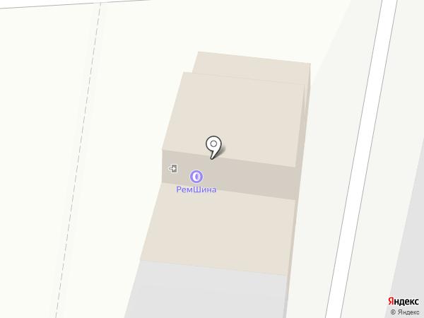 Сеть шиномонтажных центров на карте Калуги
